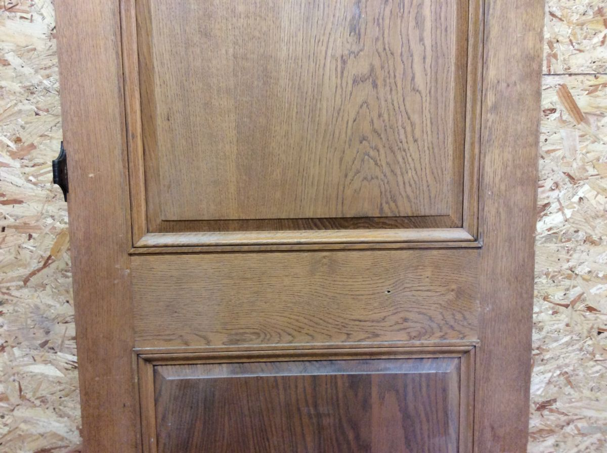Mint Pink Oak 2 Panel Door