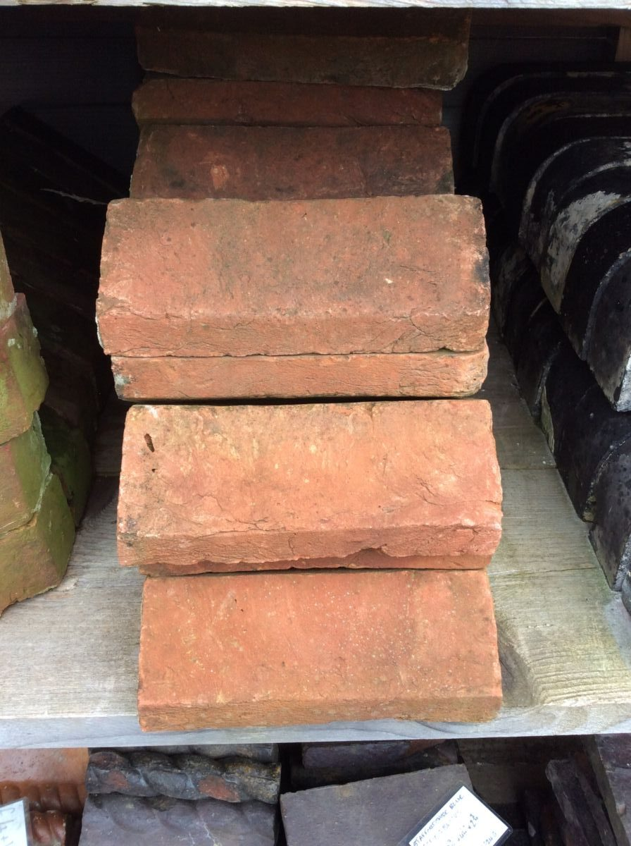 Reclaimed Handmade Pointed Coping Bricks