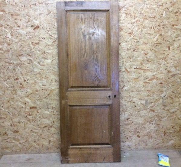 Oak 2 Panelled Door (Wentworth)