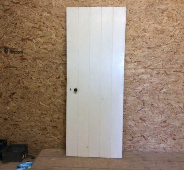 White Ledge and Brace Door