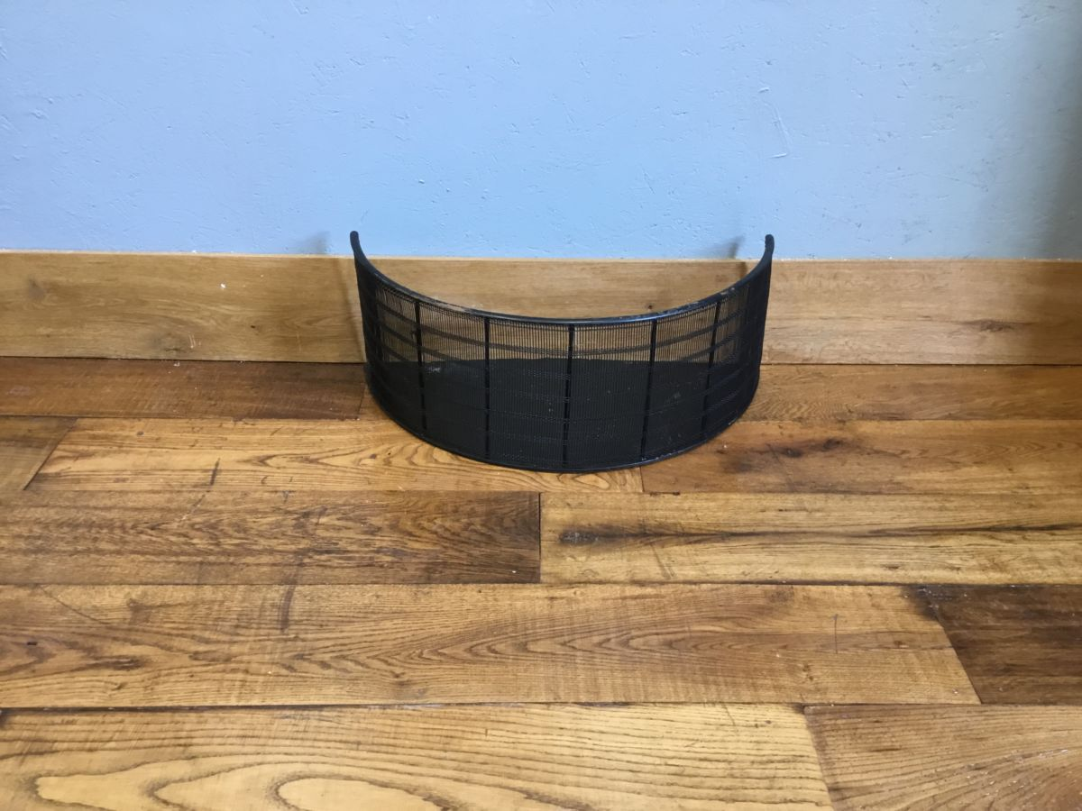 Reclaimed Crescent Shaped Mesh Fire Fender