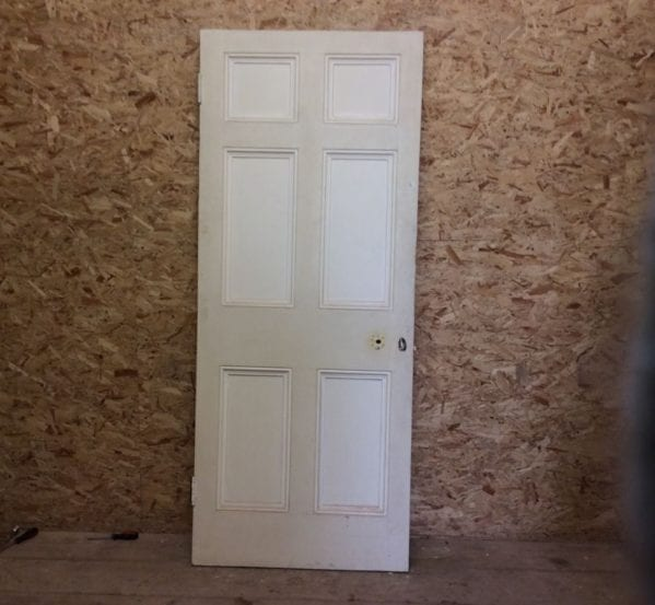 Cream Two-Tone 6 Panelled Door