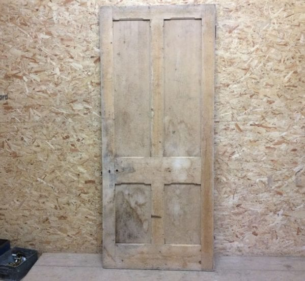 Large Stripped 4 Panelled Door Premium