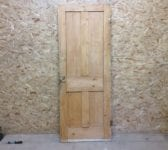 Smooth Finish 4 Panelled Stripped Door