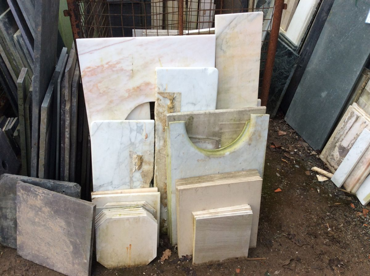 Reclaimed Miscellaneous Marble Slabs