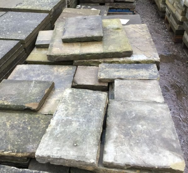 Reclaimed Various York Stone