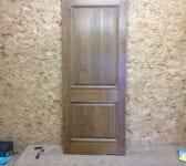New Oak 2 Panelled Door (Wentworth)
