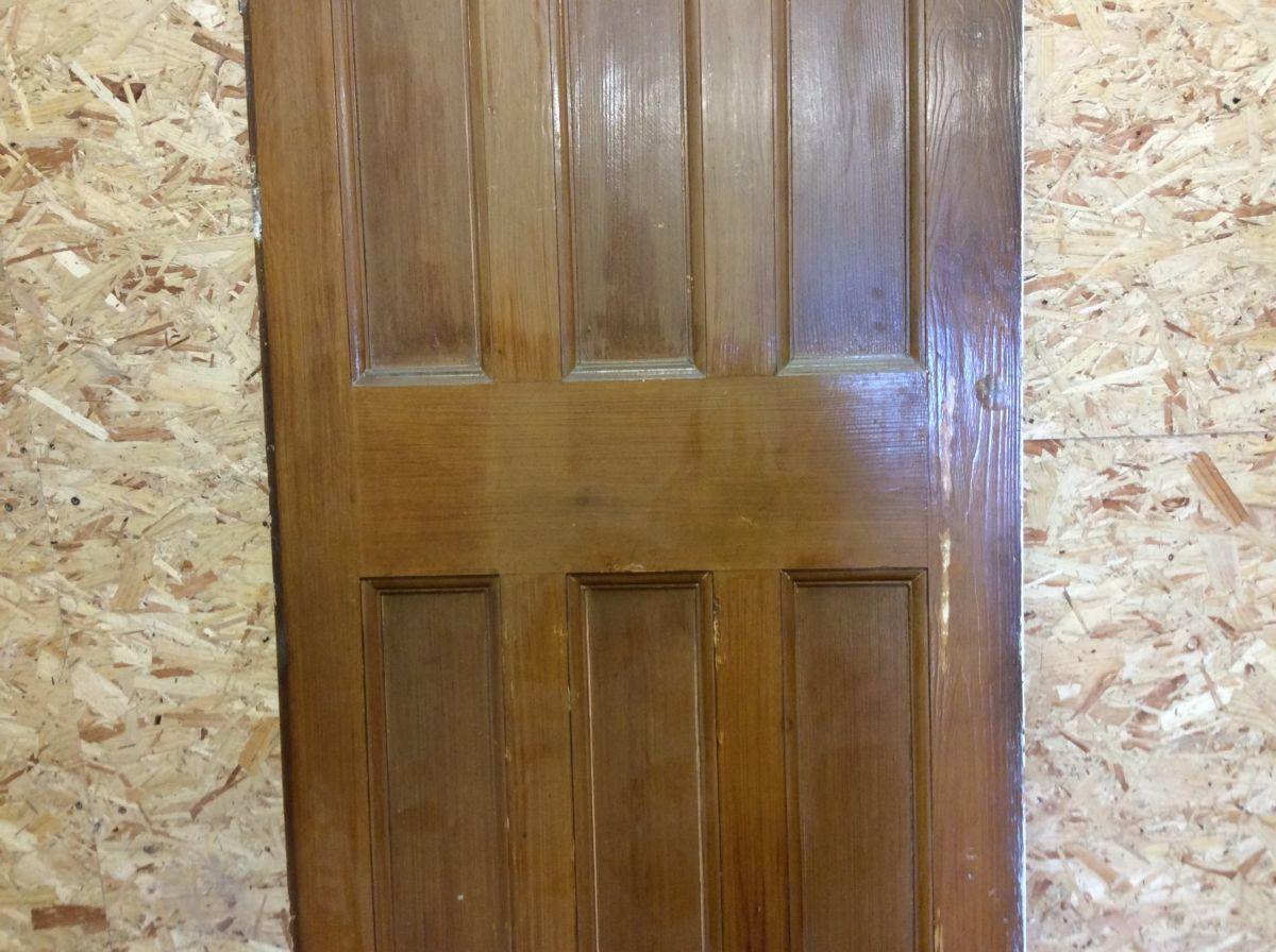 Half Painted 6 Panelled Door