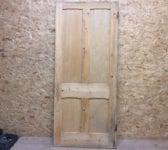 4 Panelled Door Large Stripped Premium