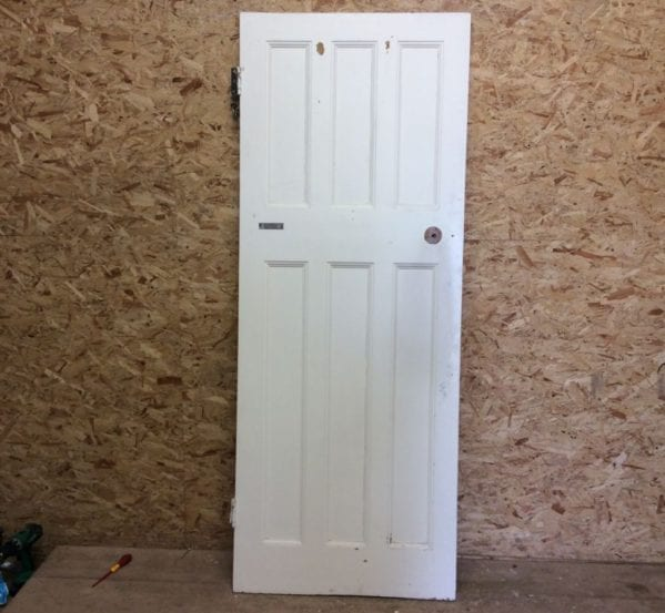 6 Panelled Door 3 Over 3