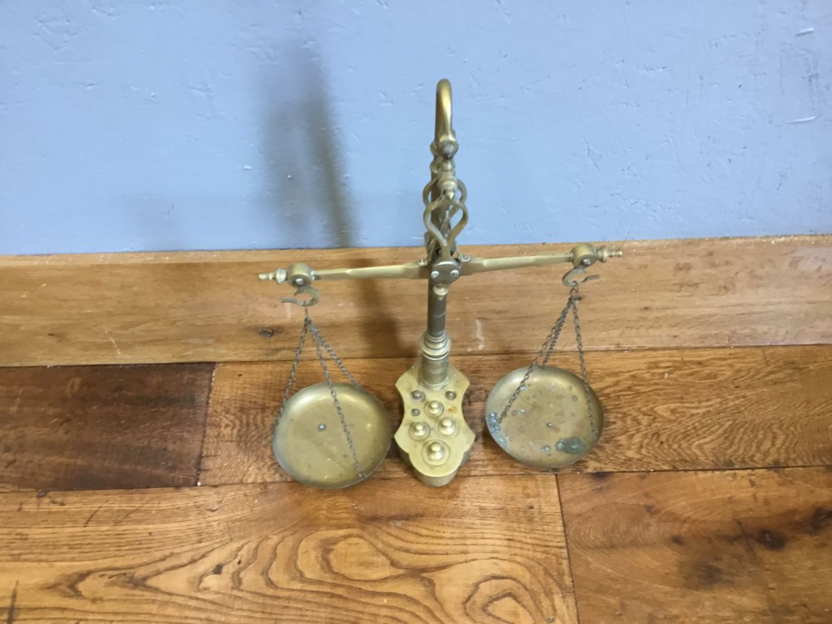 Reclaimed Brass Scales