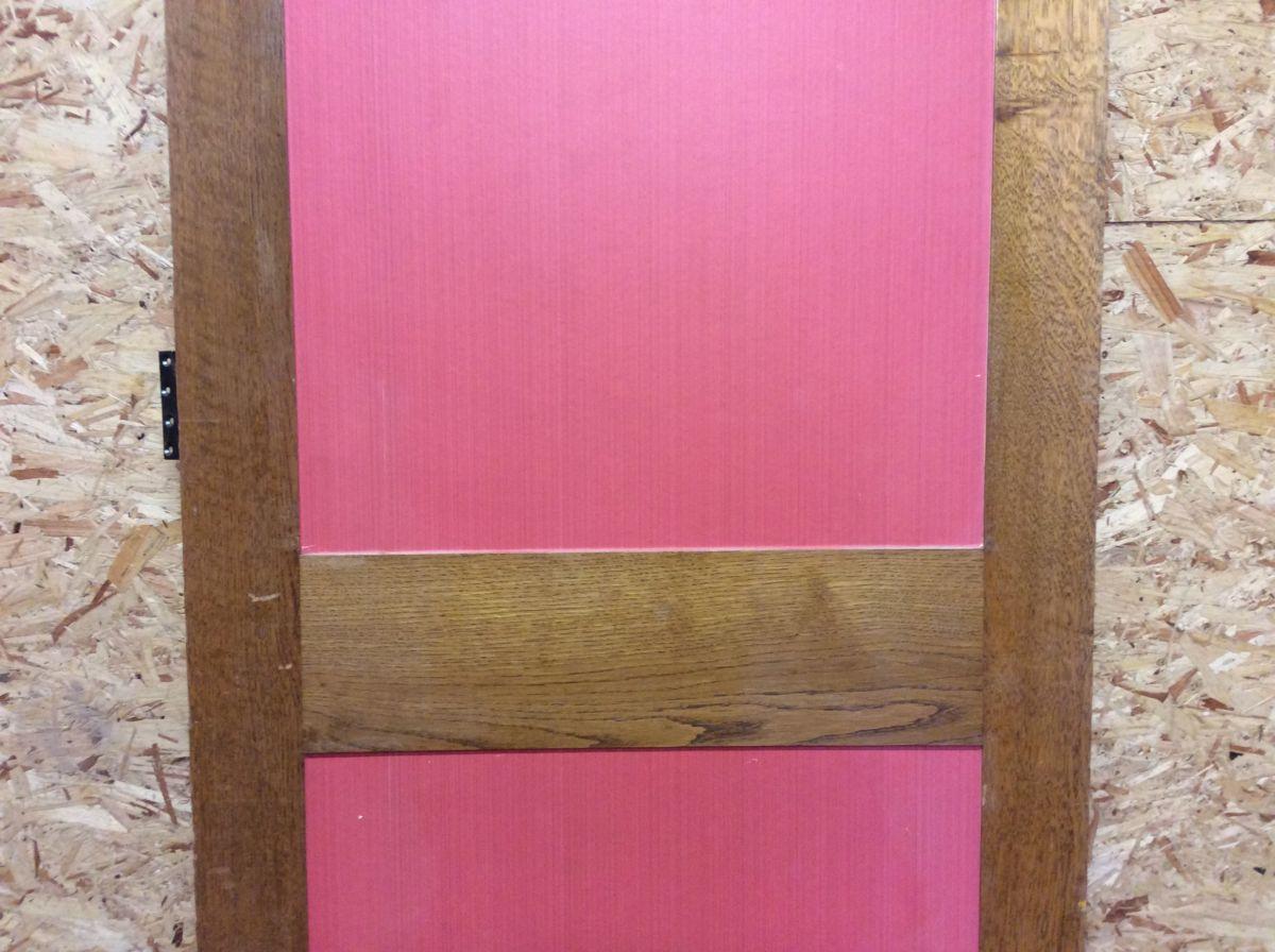 2 Pink Panel Oak Door