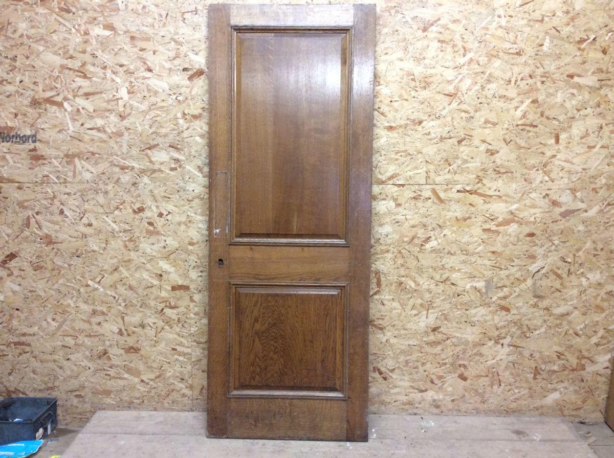 Plain Oak 2 Panel Door (Wentworth)