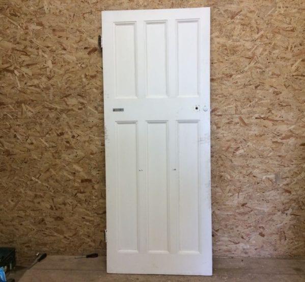 White 6 Panelled Door