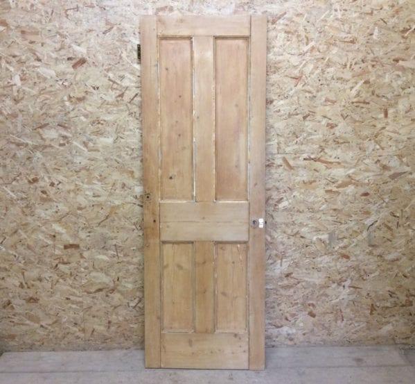 Nice Grain Stripped 4 Panelled Door