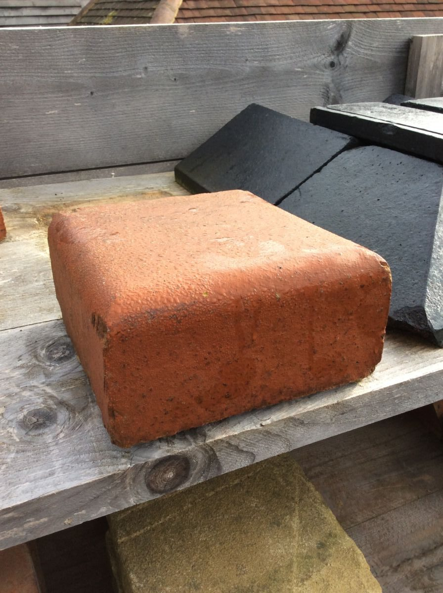 Reclaimed Square Coping Brick