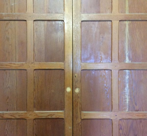 Dark Rose 10 Panelled Cupboard Doors
