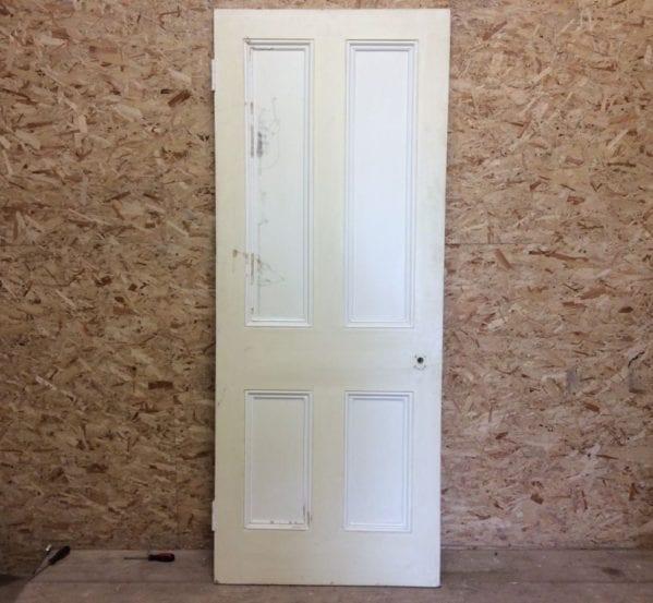 Cream 2-Tone 4 Panelled Door