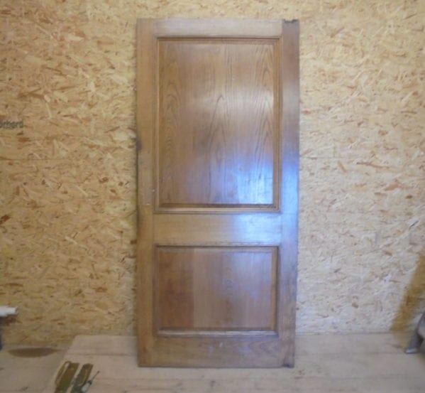 Discounted 2 Panelled Oak Door
