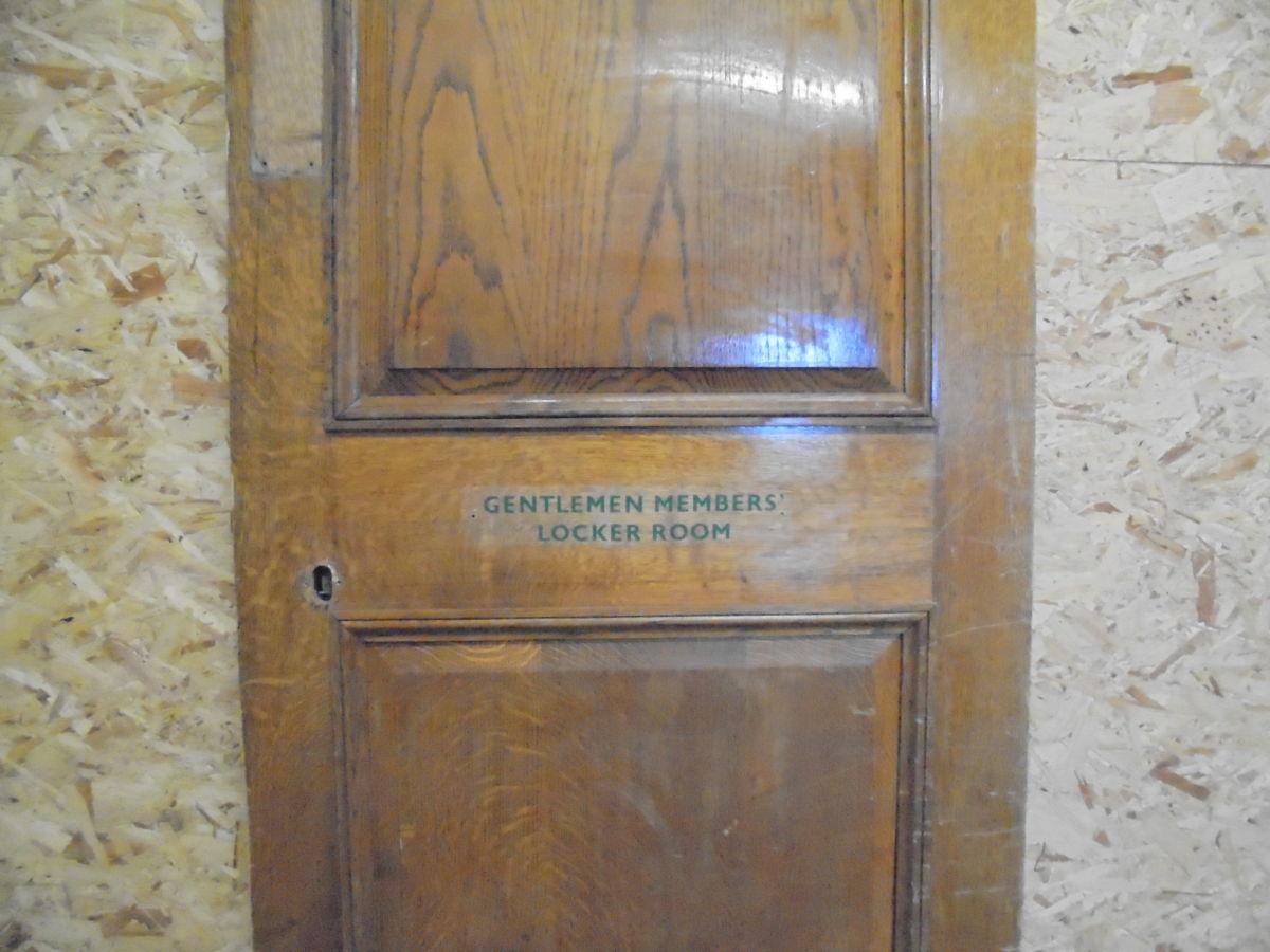 Wentworth Oak 2 Panel Door 'Changing Room'