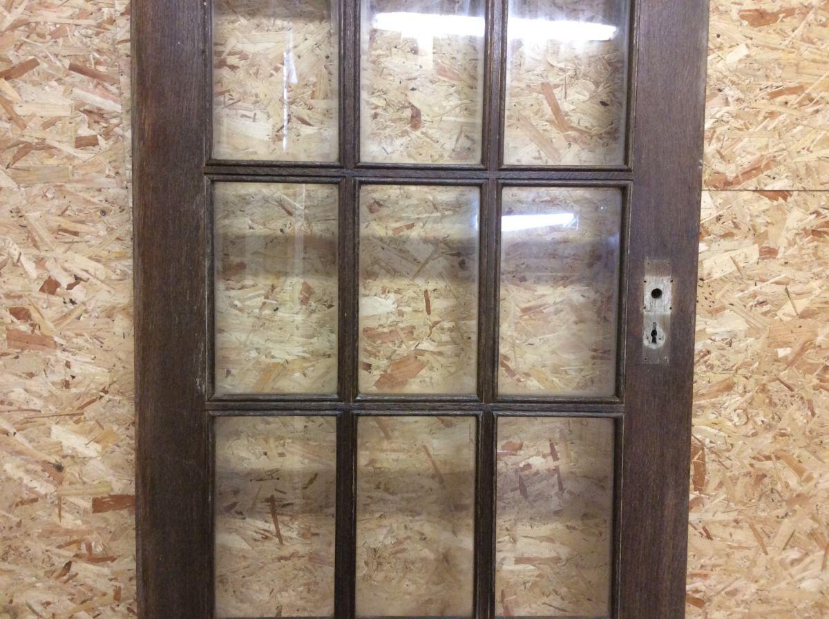 15 Panelled Oak Door Glazed