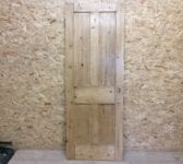4 Panelled Stripped Door Smooth Finish