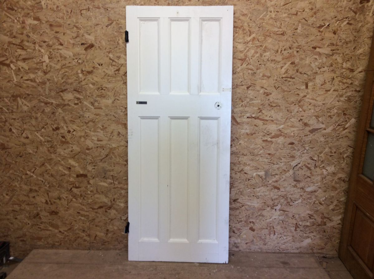 White 6 Panelled Door 3/3