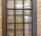 15 Pane Oak Glazed Door