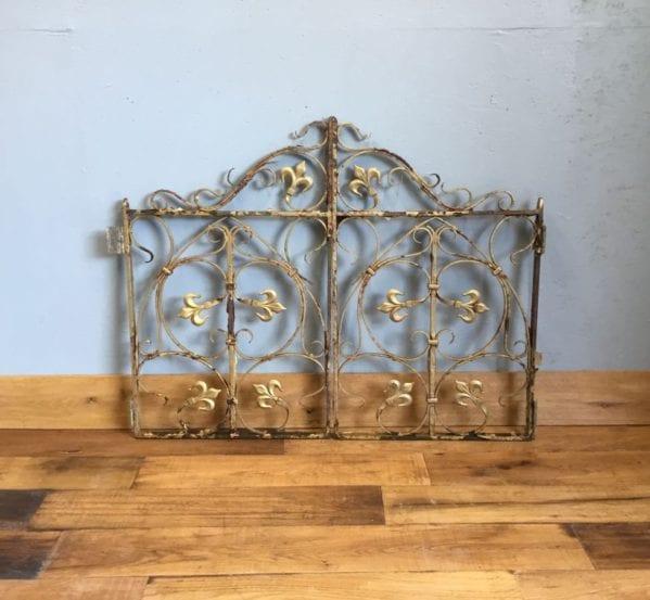 Highly Ornate Cast Iron Gates