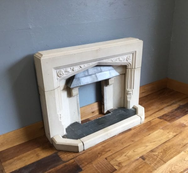 Reconstituted Stone Fireplace & Hearth