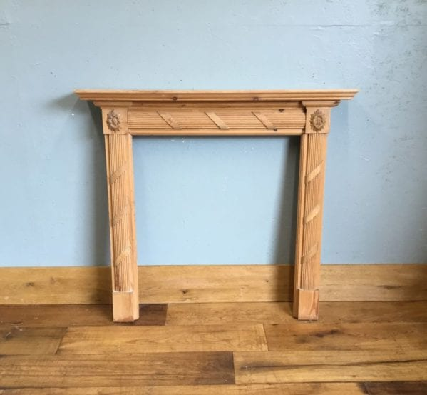 Pine Fire Surround Ribbon