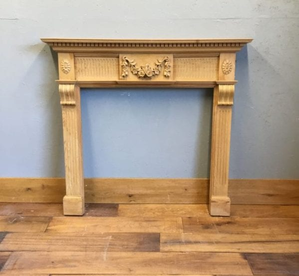 Pine Carved Fire Surround