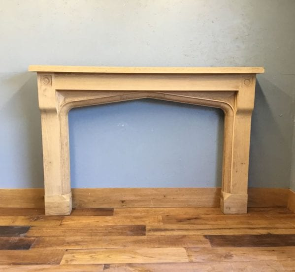 Large Oak Fire Surround