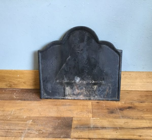 Plain Cast Iron Fire Back