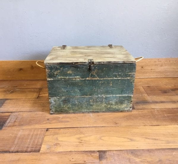 Small Wooden Trunk