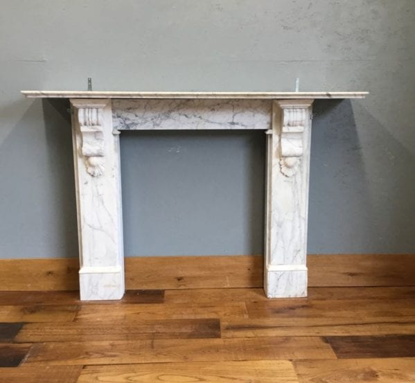 Ornate Corbel Marble Fire Surround