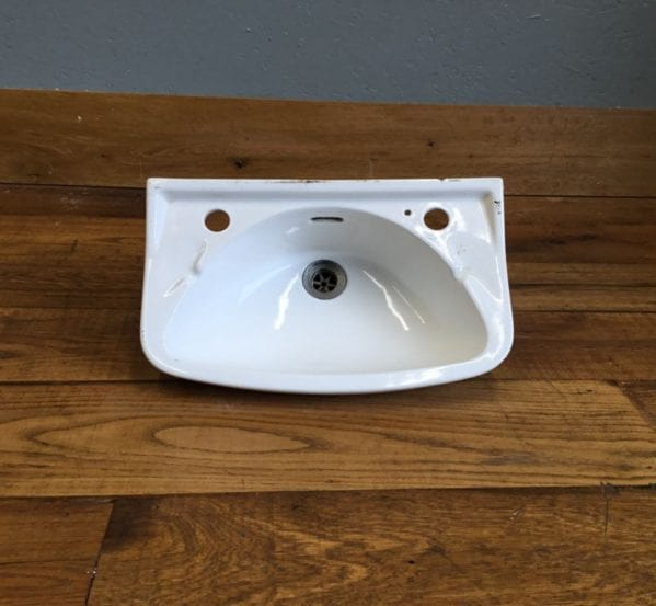 Small Sink No Taps