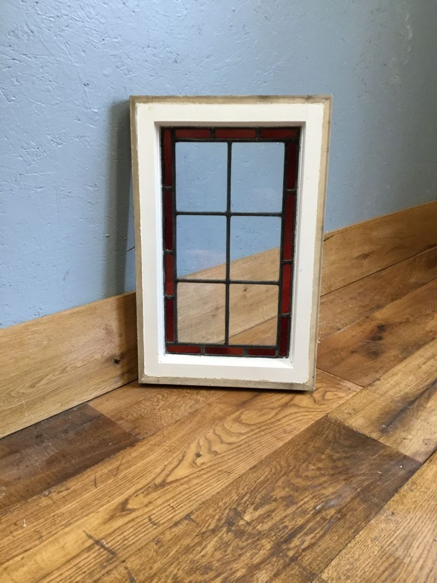 Small Clear & Red Window