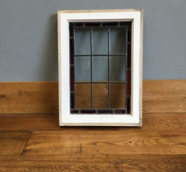 Medium Clear & Red Window