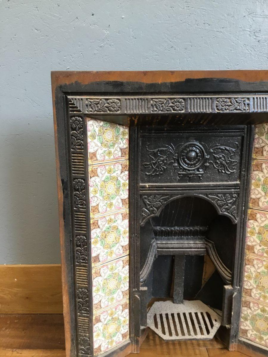 Fully Tiled Fire Insert
