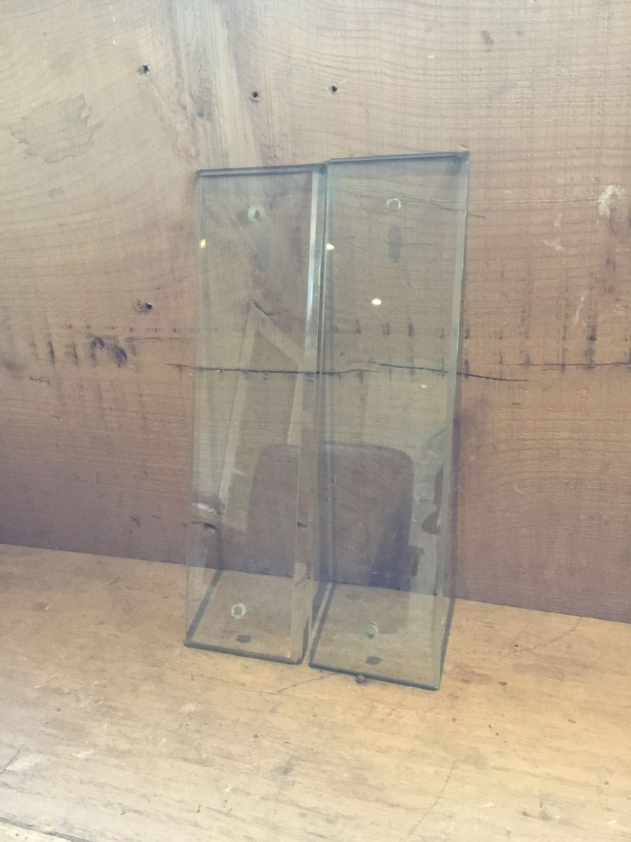 Clear Glass Push Plate Sets