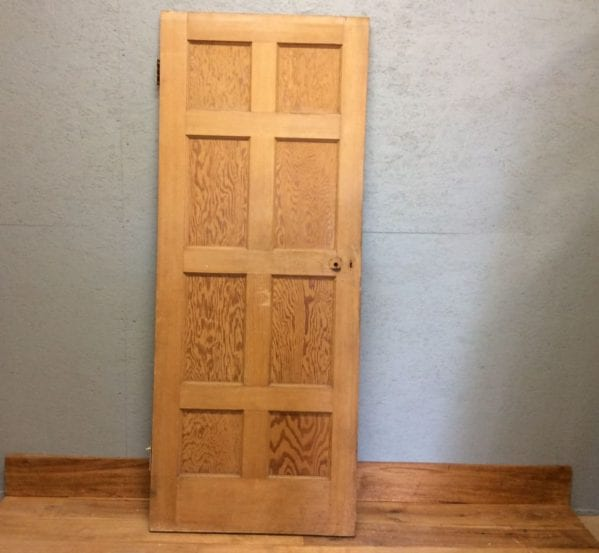 Smooth Stripped 8 Panelled Door
