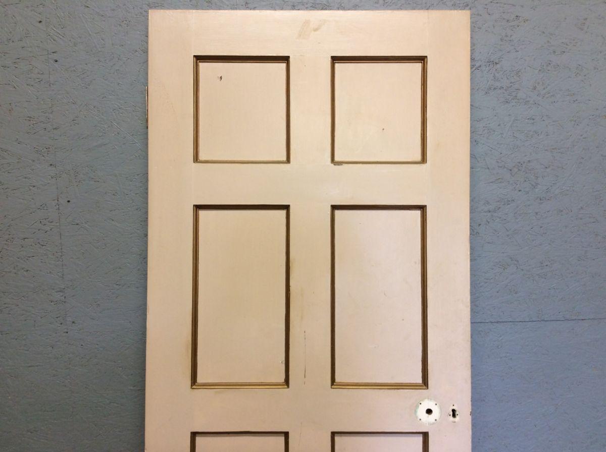 8 Panelled Door Gold Inlay