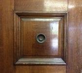 Grand Oak 3 Panelled Double Doors