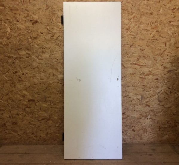 Plain White Painted Door