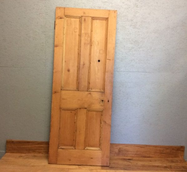 Stripped Natural 4 Panelled Door