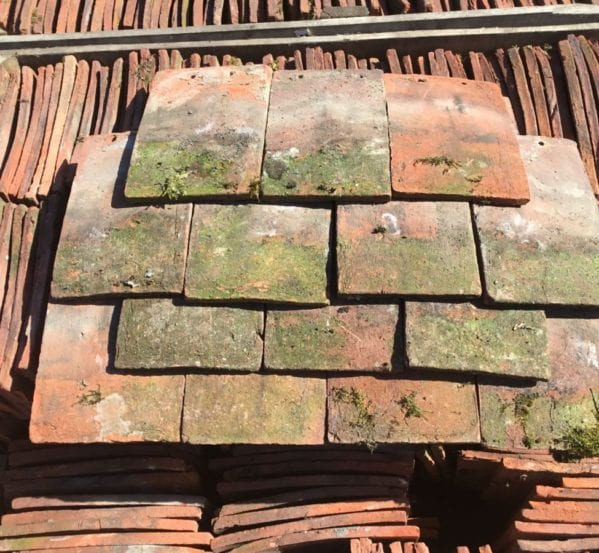Reclaimed Weathered Orange Peg Tiles