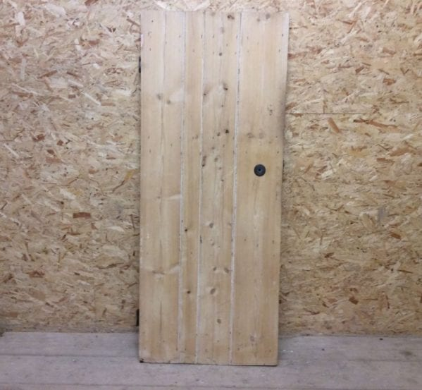 Stripped Small Ledge & Braced Door