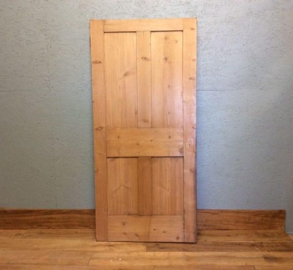 Short Stripped 4 Panelled Door