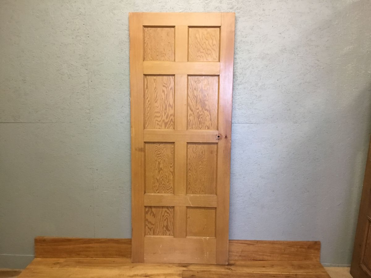 Stripped Reclaimed 8 Panelled Door